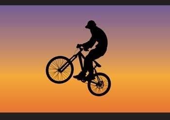 Bike sport vector 8