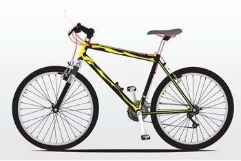 Bike sport vector 17