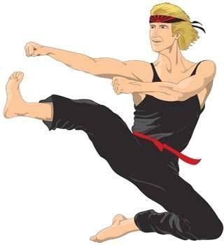 Karate vector 1