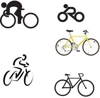 Bike sport vector 4