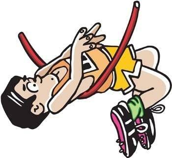 Athletics sport vector 1