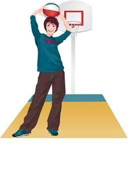 free vector Basketball sport vector 1