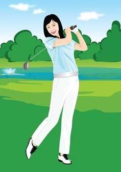 free vector Golf vector 1