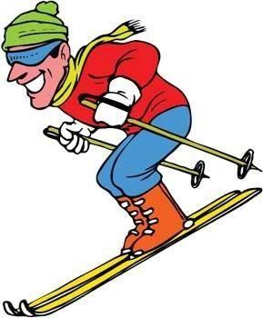 free vector Snow boarding vector 14