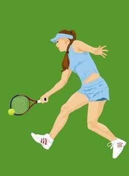 free vector Tennis sport vector 5