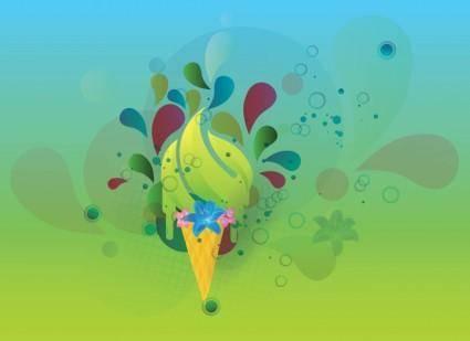 free vector Summer Vector Image