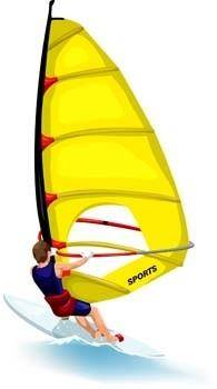 Surfing sport vector 6