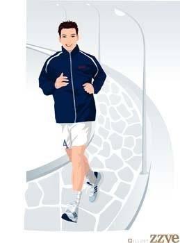 Running sport vector 1