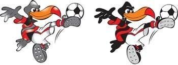 Football vector 3