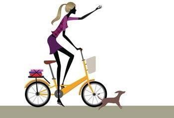 Bike sport vector 7