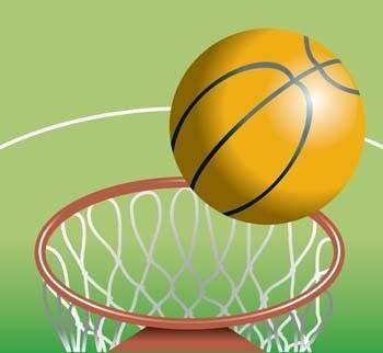 Basketball sport vector 6