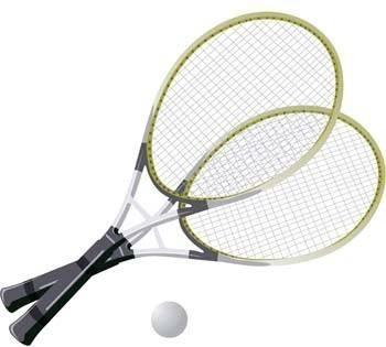 free vector Tennis sport vector 8