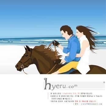 free vector Horse riding sport vector