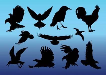 free vector Free Birds Vectors
