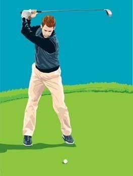Golf vector 4
