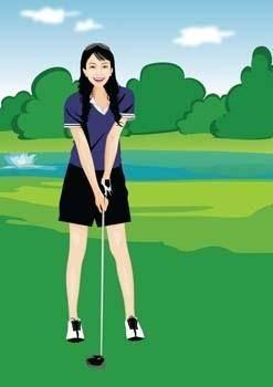Golf vector 2