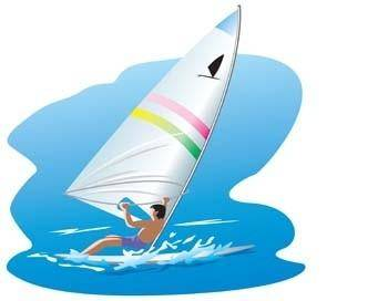free vector Surfing sport vector 13