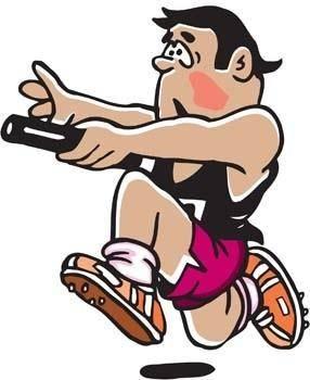 free vector Running sport vector 6