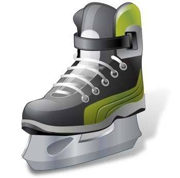 free vector Hockey Ice Skate vector ai, ice sakte vector illustrator ai, hockey vector sport ai illustrator design