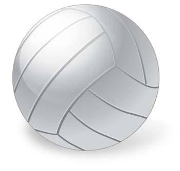 Volleyball vector ai, sport vector ai illustrator design, ball vector ai design illustrator