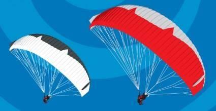 free vector Paraglide vector