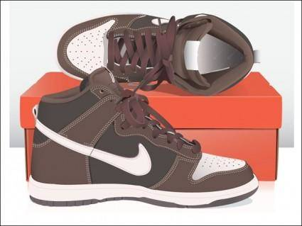 free vector Nike Dunks