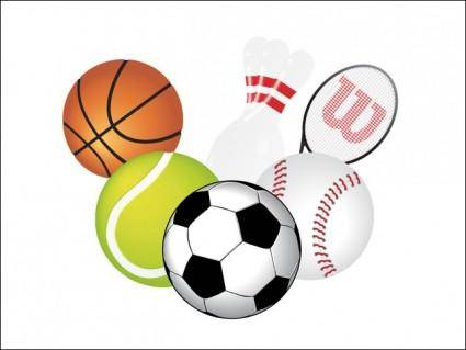 free vector Sports Vector Pack