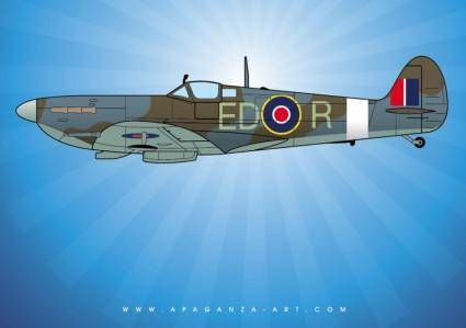 free vector Spitfire Vector