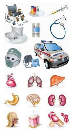 free vector Vector clip art of medical topics