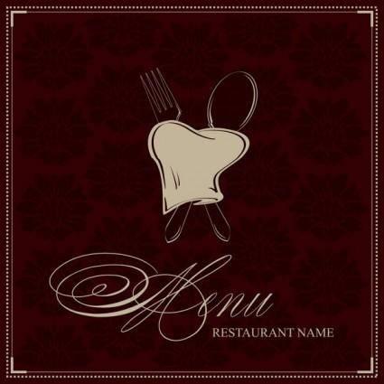 Westernstyle food menu clip art 1