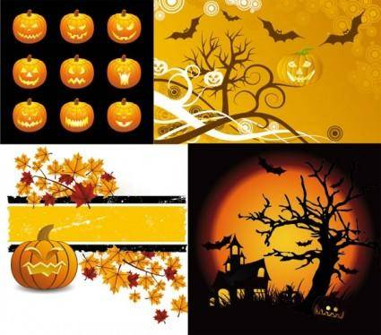 Halloween clip art illustrations