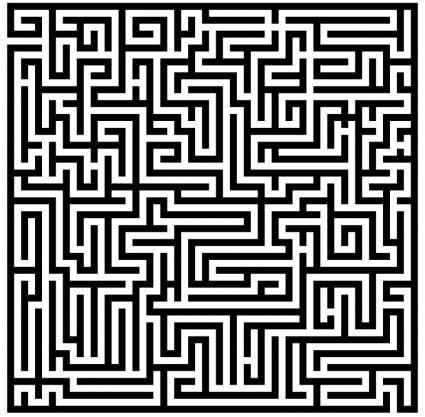 free vector Labyrinth