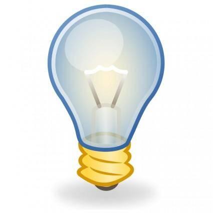 free vector Light bulb icon