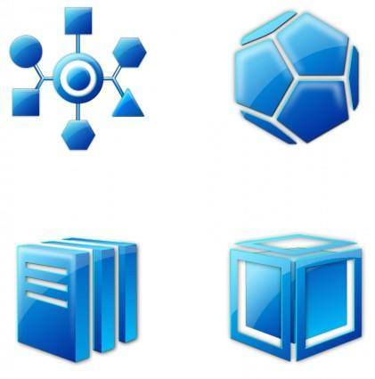 free vector Strange_Icons