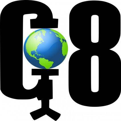 free vector G8 earth
