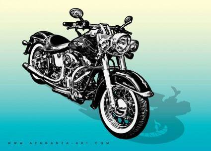 free vector Motorcycle Vector Graphics