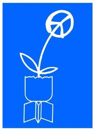Peace - vintage soviet poster