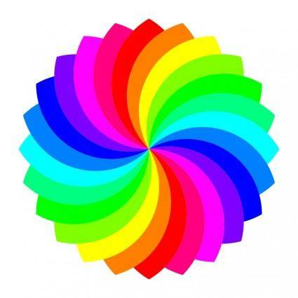 free vector 24 football flower 12 color