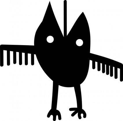 free vector Petroglyph Spedis owl