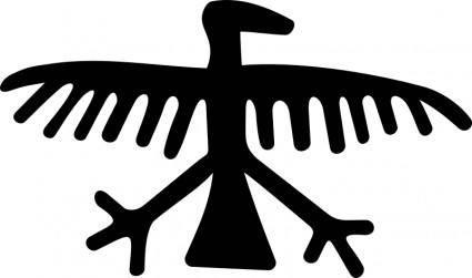 Petrogliph Eagle