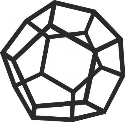 free vector Dodecahedron
