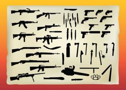 free vector Free Weapons Vector Graphics