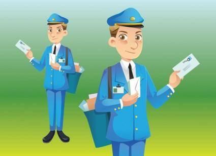 free vector Postman Vector
