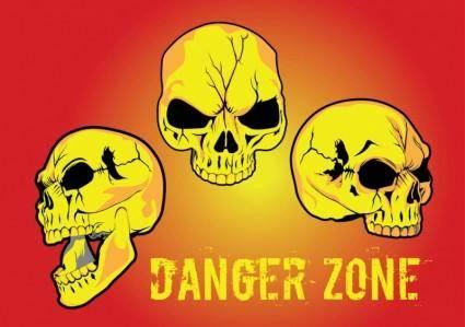 free vector Danger Zone Vector