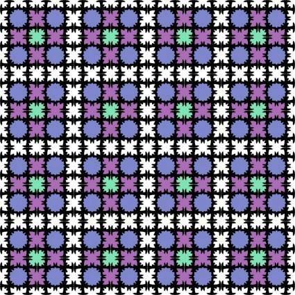 Muster 43cab Variation in bunt - Endloskachel