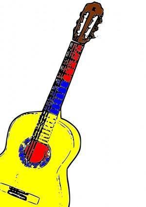 free vector Guitarra Colombia
