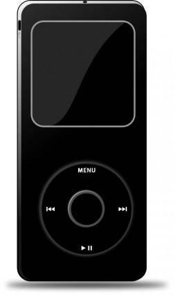 free vector Ipod (Black)