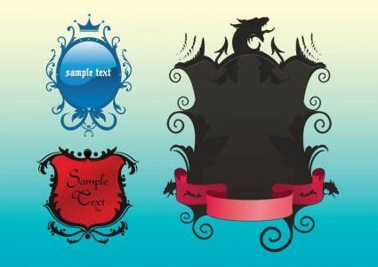 free vector Free Shield Vectors