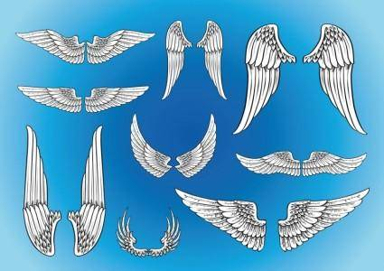free vector Vector Art Wings