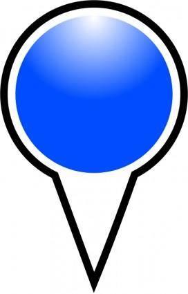 Squat-marker-blue
